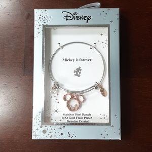 NIB Mickey Bangle bracelet